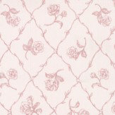 Albany Rose Trail Trellis Red Wallpaper - Product code: 21506