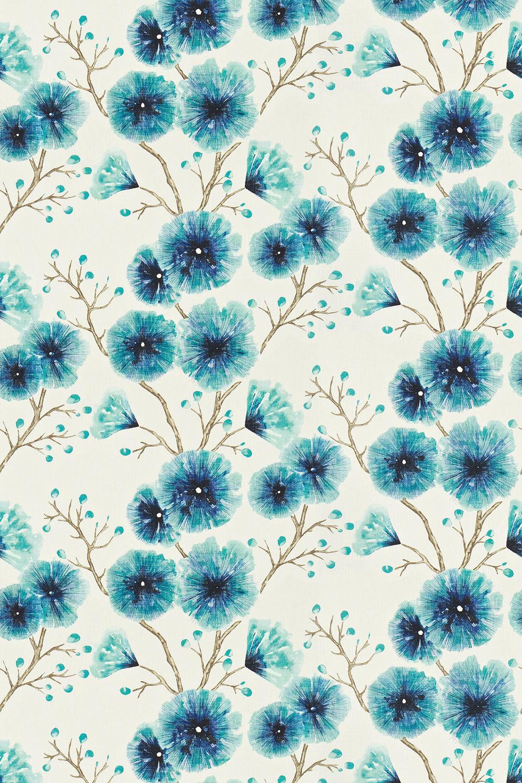 Harlequin Kabala Lagoon Fabric - Product code: 120349