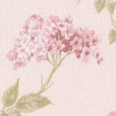 Albany Elderflower Red  Wallpaper