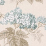 Albany Elderflower Duck Egg Wallpaper