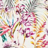 Harlequin Paradise Papaya/Flamingo/Apple Fabric