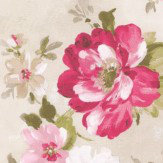 Albany Summer Meadow Pink Wallpaper