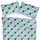 Mini Moderns Darjeeling Double Duvet Lido Duvet Cover