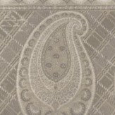 Mulberry Home Lomond Silver / Taupe Wallpaper