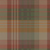 Mulberry Home Mulberry Ancient Tartan Spice Wallpaper