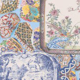 Mulberry Home Mulberry China Multi Wallpaper