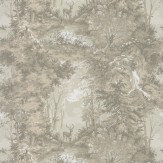 Mulberry Home Torridon Charcoal  Wallpaper - Product code: FG076A101