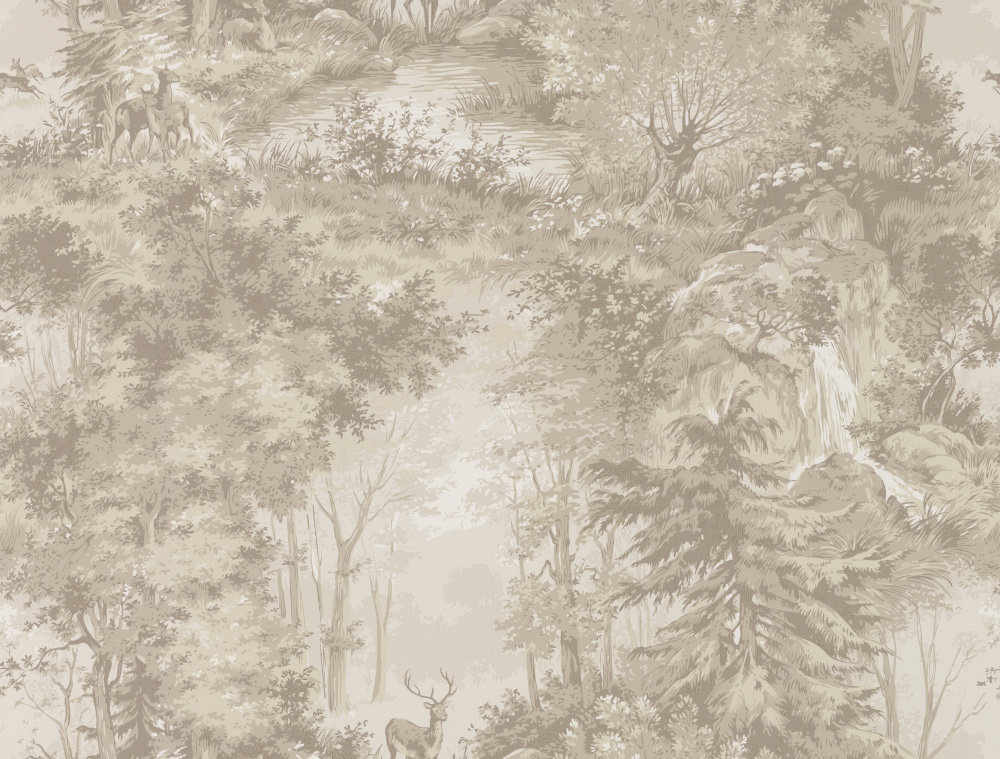 Mulberry Home Torridon Sand Wallpaper - Product code: FG076N102