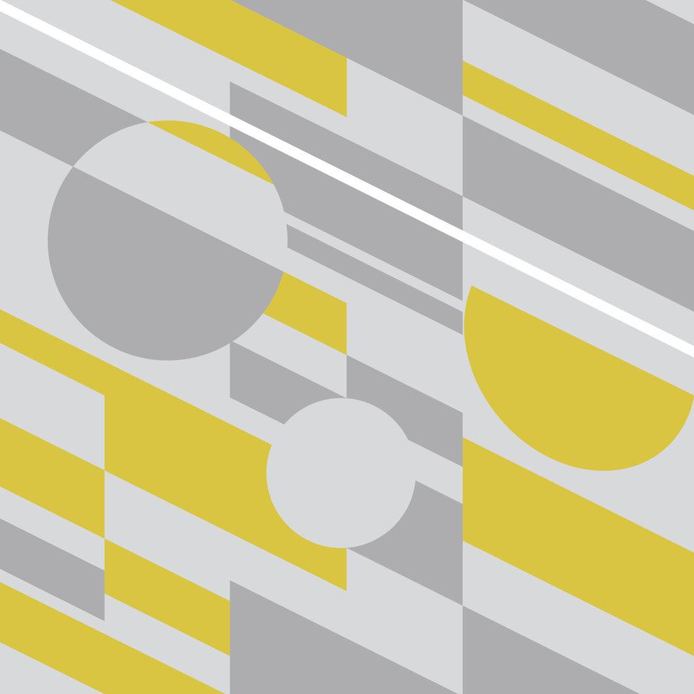 Mini Moderns P.L.U.T.O Mustard Wallpaper main image