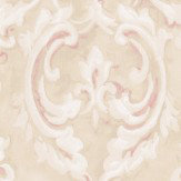 Albany Scrolling Plaster Effect Stone Wallpaper - Product code: 21608