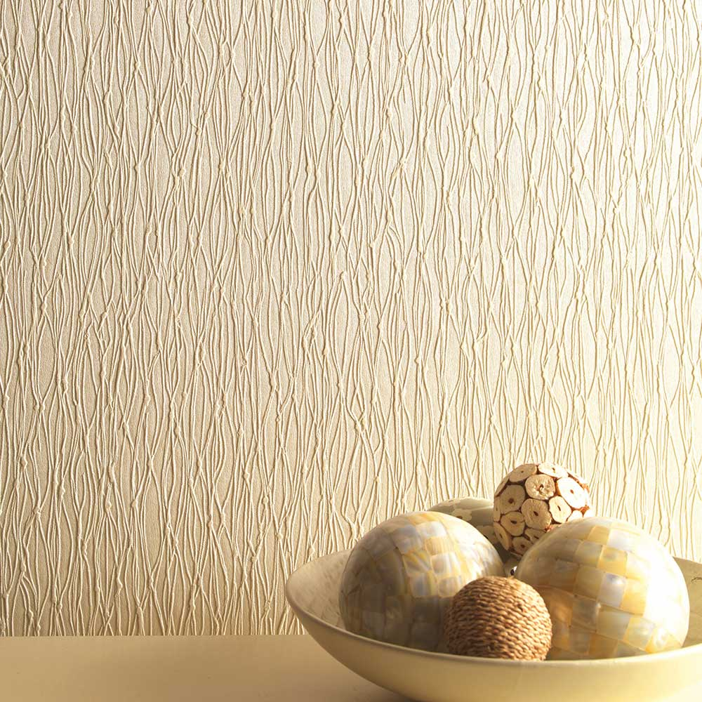Siena Texture Wallpaper - Beige - by Albany