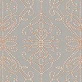Harlequin Java Stone / Papaya Fabric