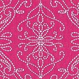 Harlequin Java Flamingo / Peach Fabric