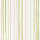 Albany Candy Stripe Green Wallpaper