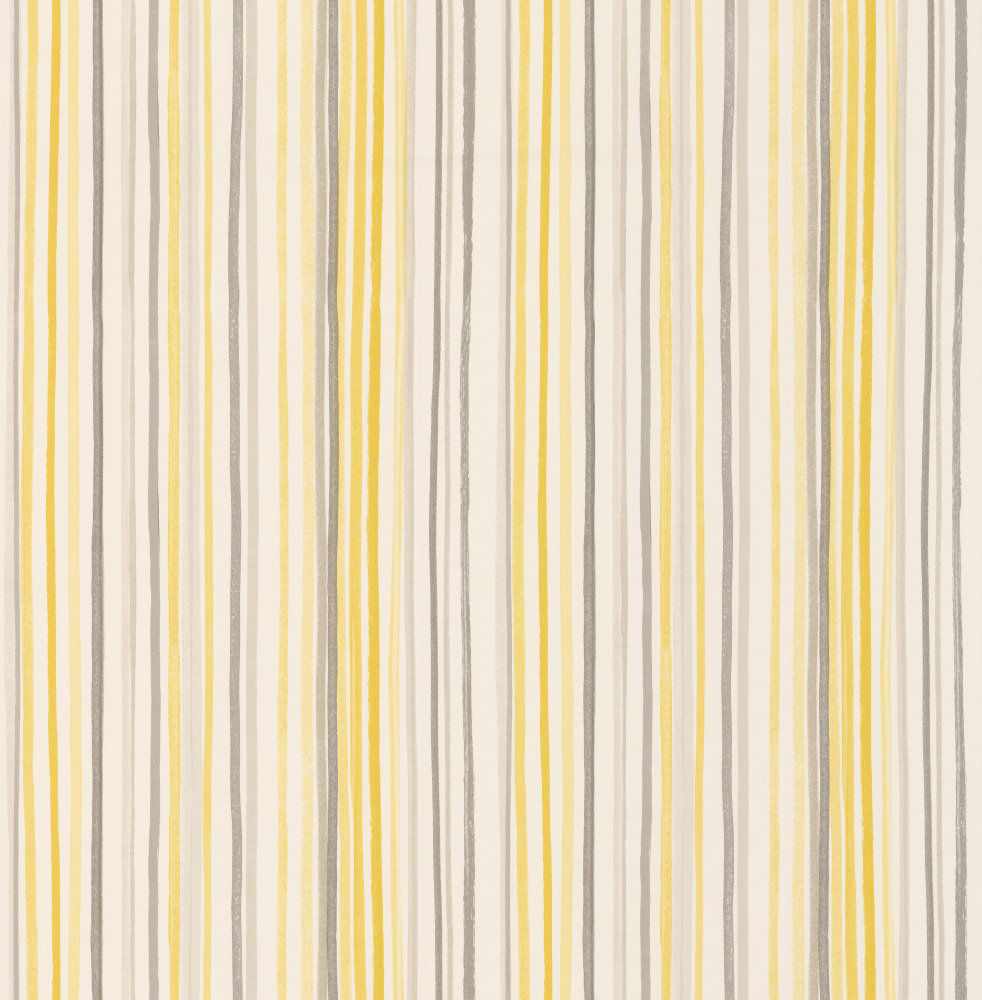 Albany Candy Stripe Yellow Wallpaper - Product code: 21633