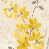 Albany Spring Meadow Yellow Wallpaper