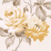 Albany Stylised Rose Yellow Wallpaper - Product code: 21545