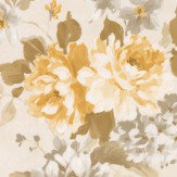 Albany Floral Spruce Yellow Wallpaper - Product code: 21612