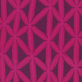 Harlequin Rumbia Flamingo / Loganberry Fabric