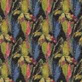 Harlequin Congo Flamingo/Indigo/Olive Fabric