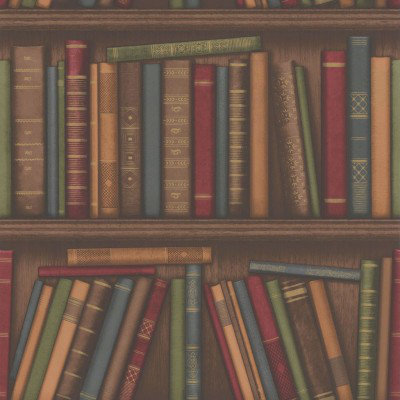Albany Wallpapers Bookshelf 40545