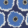 Sanderson Papavera Indigo / Marine Wallpaper