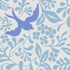 Sanderson Larksong Marine / Indigo Wallpaper - Product code: 214764