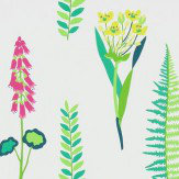 Sanderson Floral Bazaar Brights / Multi Wallpaper