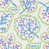 Sanderson Jewel Leaves Brights Wallpaper