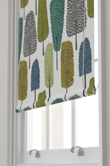 Cedar By Scion Slate Apple And Ivy Fabric Wallpaper