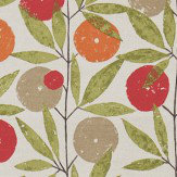 Scion Blomma Tangerine, Chilli and Citrus Fabric