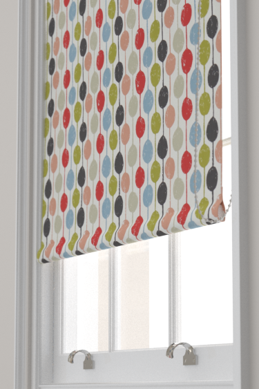 Scion Taimi Kiwi, Poppy and Charcoal Blind - Product code: 120364