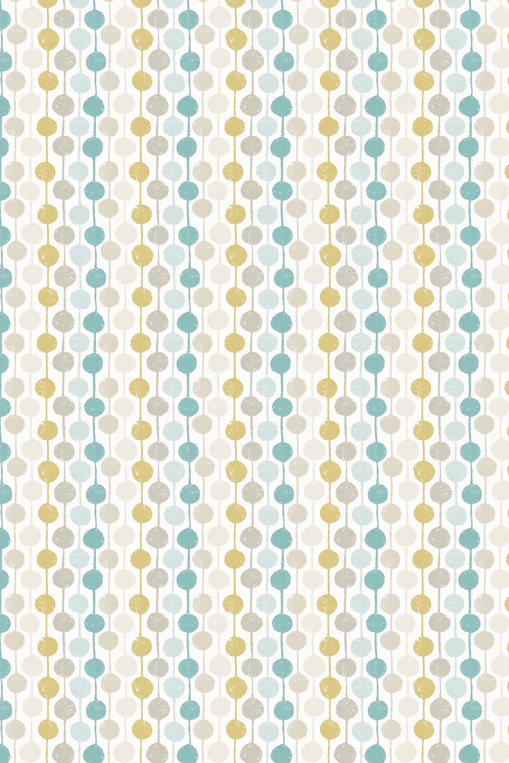 Taimi Fabric - Seaglass, Chalk and Honey - by Scion