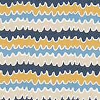 Scion Hetsa Almond, Cobalt and Midnight Fabric