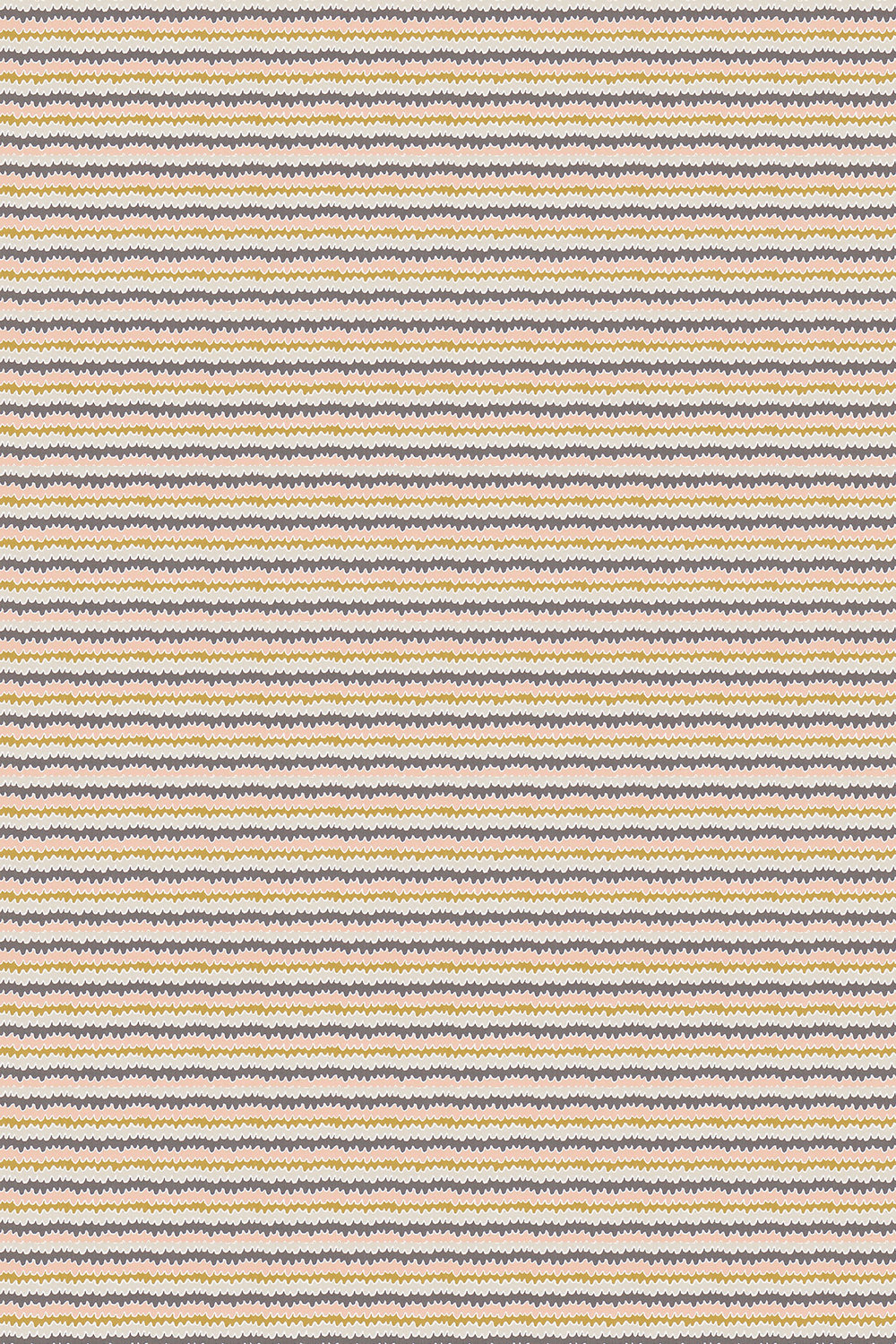 Hetsa Fabric - Parchment, Blush and Toffee - by Scion