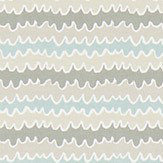 Scion Hetsa Seaglass, Chalk and Mink Fabric - Product code: 120370
