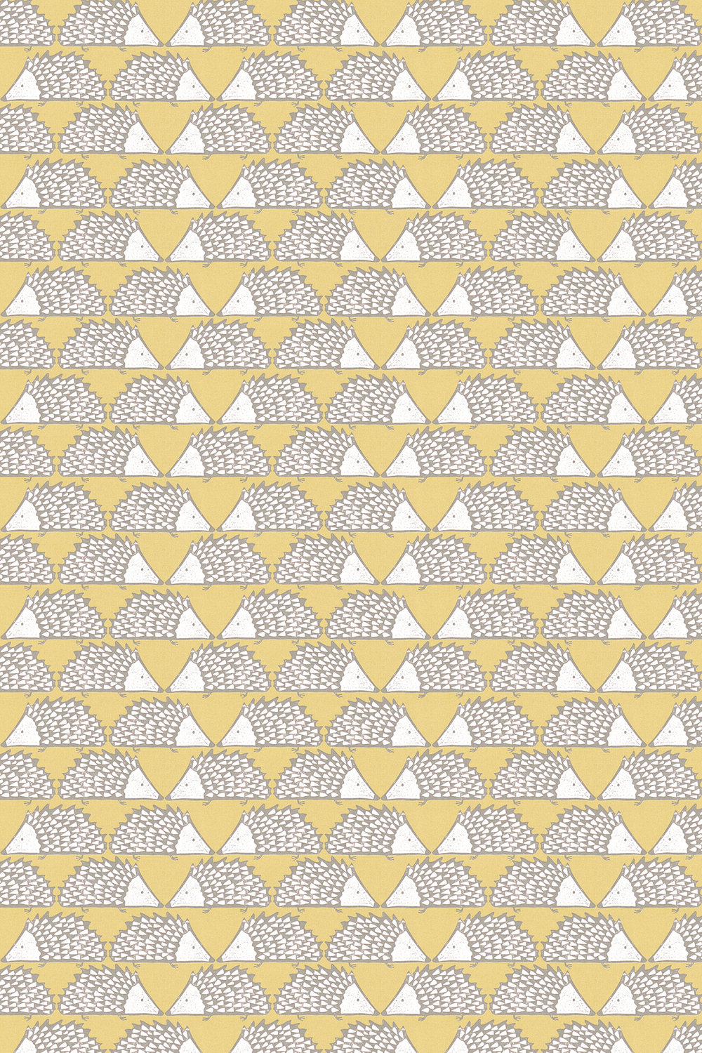Spike Fabric - Honey - by Scion