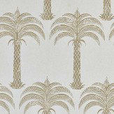 Barneby Gates Marrakech Palm Soft Gold Wallpaper - Product code: BG1200102
