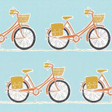 Scion Cykel Tangerine, Sulphur and Marine Fabric - Product code: 120387