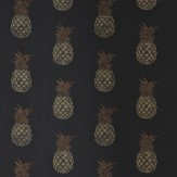 Barneby Gates Pineapple Charcoal Wallpaper - Product code: BG1200202