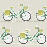 Scion Cykel Ivy, Apple and Slate Fabric - Product code: 120389