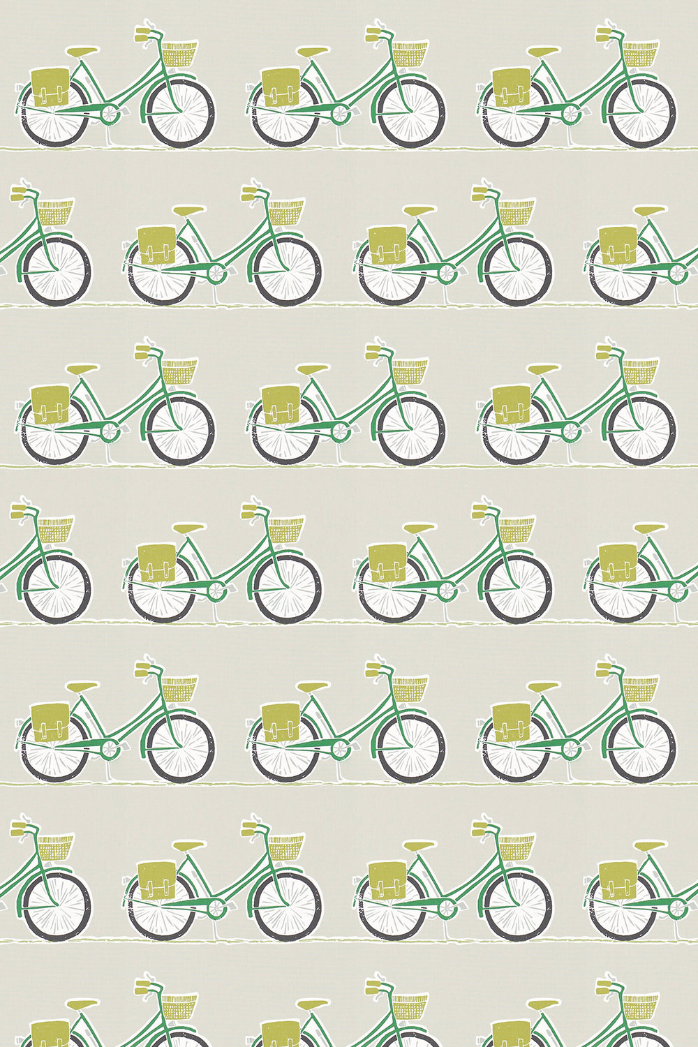Cykel Fabric - Ivy, Apple and Slate - by Scion