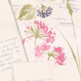 Albany Country Notebook Pink / Green Wallpaper