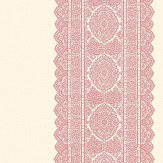 Albany Sari Stripe Red Wallpaper