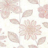 Albany Kerala Flower Red Wallpaper - Product code: SZ001815