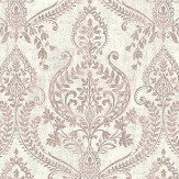 Albany Assam Damask Pale Pink Wallpaper