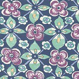 Albany Goan Tile Damson Wallpaper