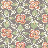 Albany Goan Tile Taupe Wallpaper