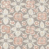 Albany Goan Tile Dark Pink Wallpaper