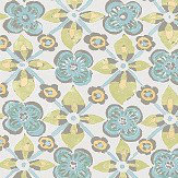 Albany Goan Tile Green Wallpaper